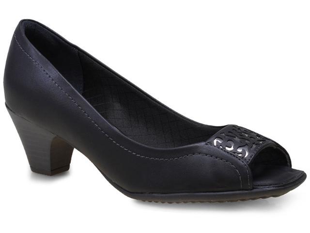 Peep Toe Feminino Piccadilly 714029 Preto