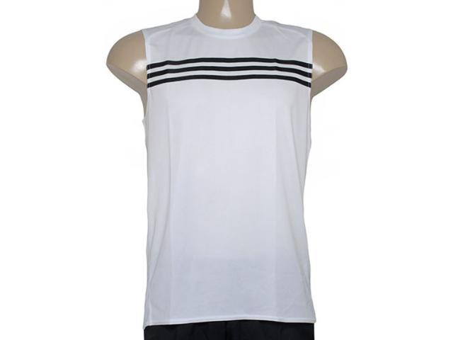 Regata Masculina Adidas Aa0647 Response sm m Branco/preto