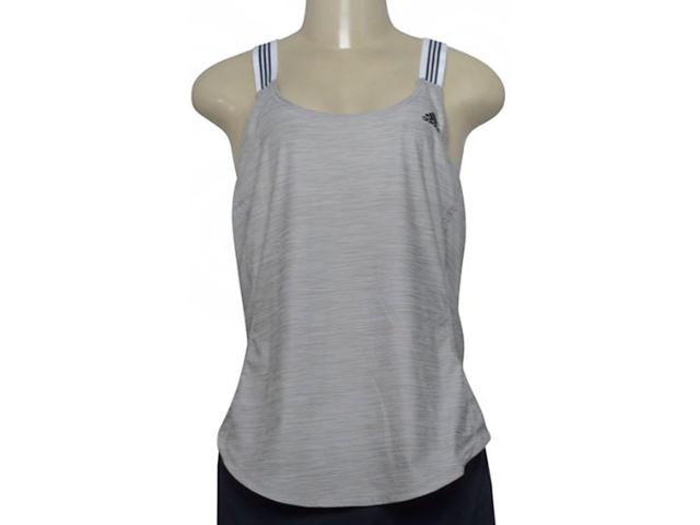 Regata Feminina Adidas Cf8334 Per Xbac Cinza