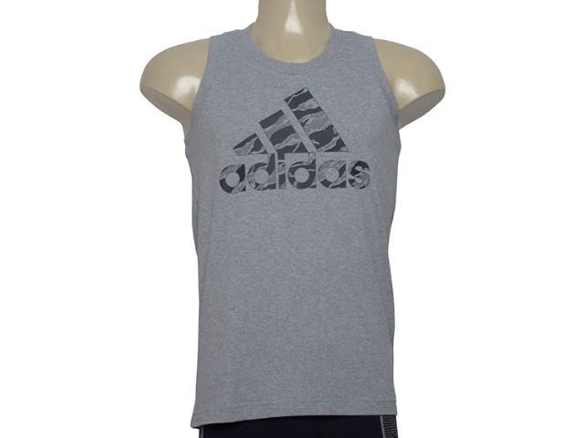 Regata Masculina Adidas Di0303 Bos Camo Cinza