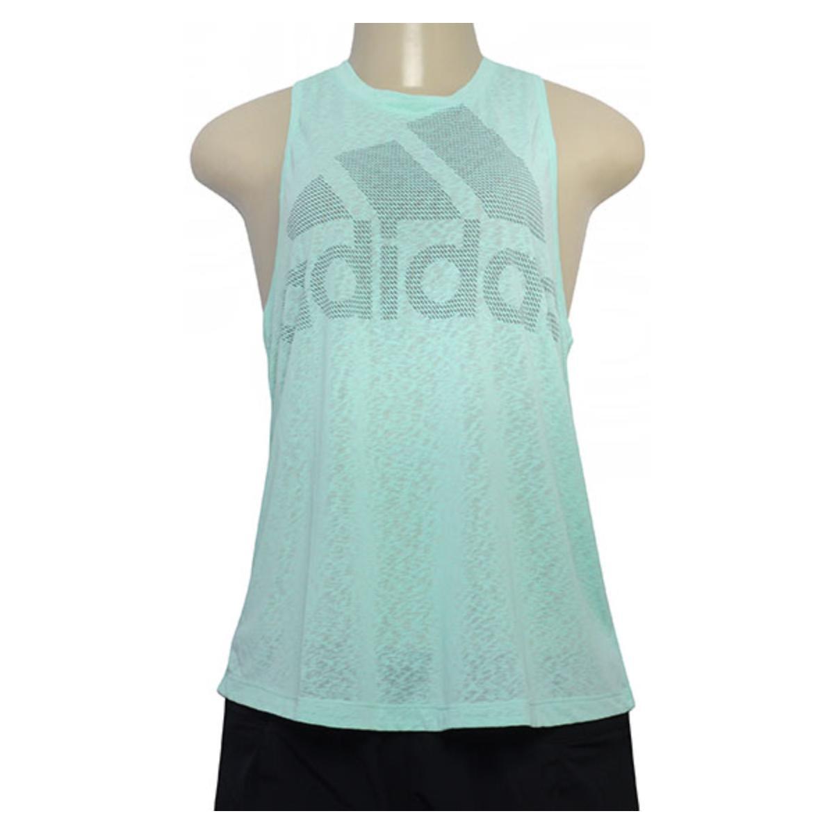 Regata Feminina Adidas Cw3854 Magic Logo Verde