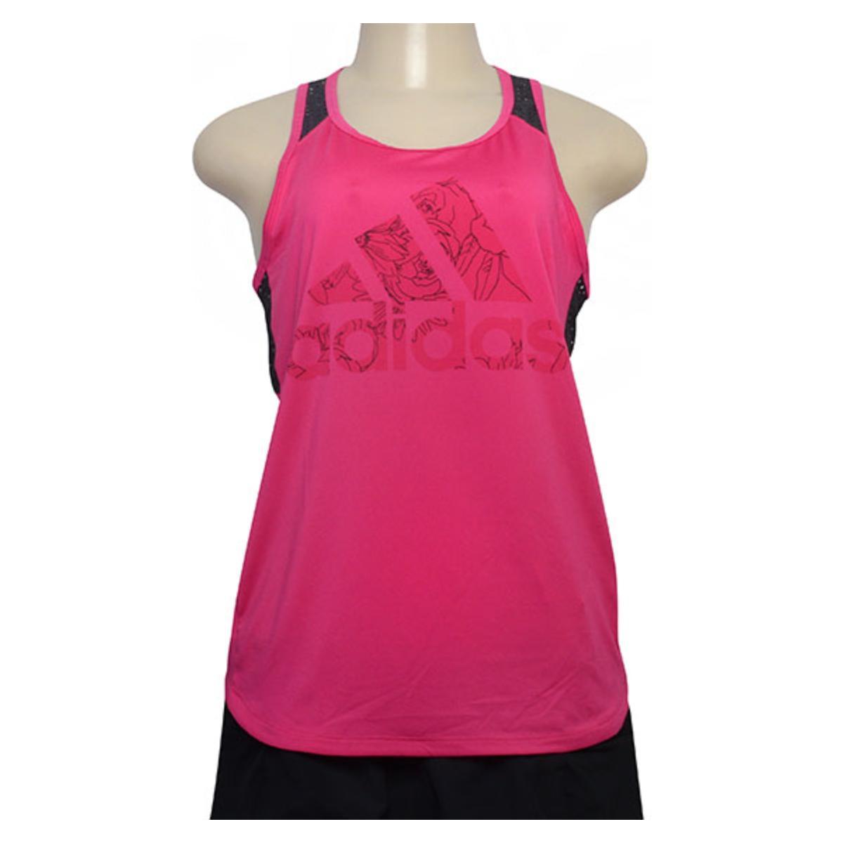 Regata Feminina Adidas Dn4143 bb Mesh Pink