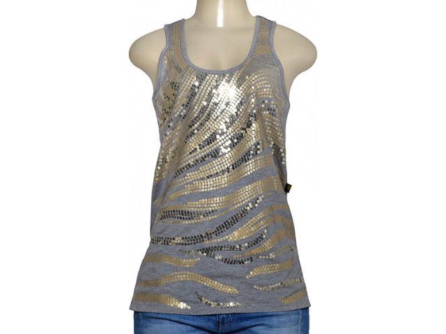 Regata Feminina Cavalera Clothing 09.01.2788 Cinza
