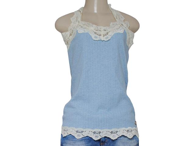 Regata Feminina Dona Florinda 38269 Azul