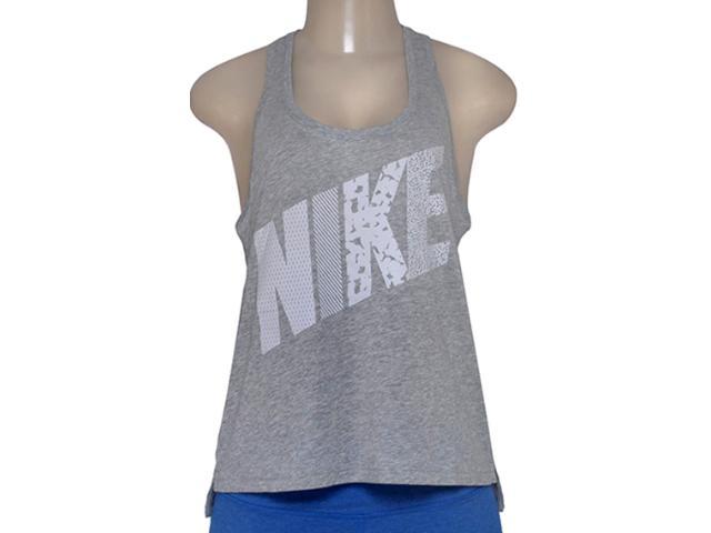 Regata Feminina Nike 678966-063 Prep Tank-mixed  Cinza