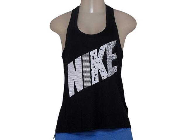 Regata Feminina Nike 678966-010 Prep Tank-mixed Preto