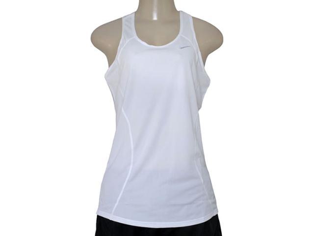 Regata Feminina Nike 645436-100 Racer Tank  Branco