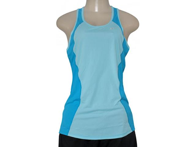 Regata Feminina Nike 645436-437 Racer Tank  Azul Bebê/azul