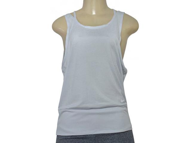 Regata Feminina Nike 904460-043 w nk Dry Tank Loose Rbk  Off White