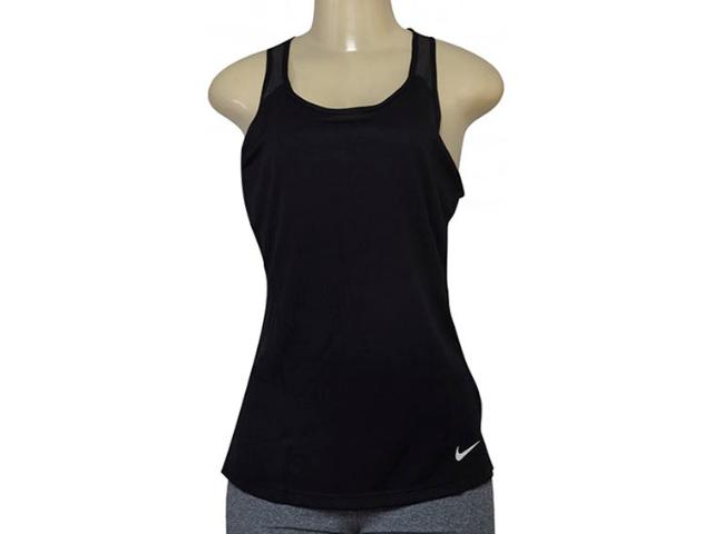 Regata Feminina Nike 862344-010 w nk Tank Stylized Preto
