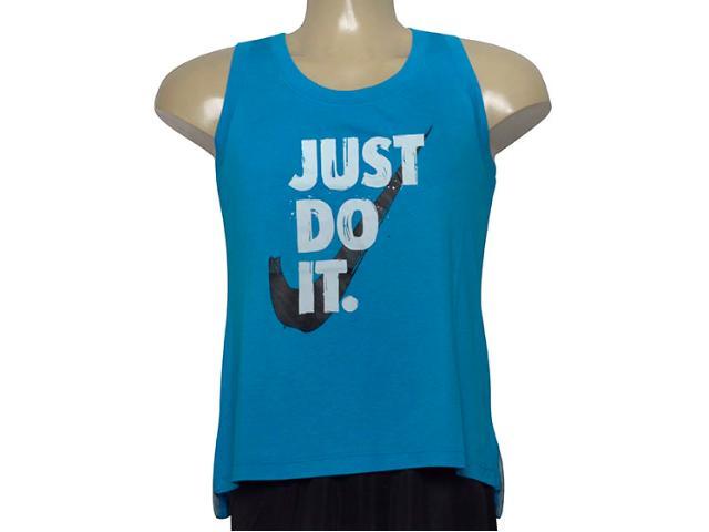 Regata Feminina Nike 890007-437 Nsw Tank  Azul