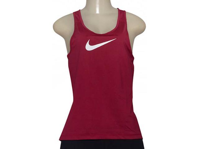 Regata Feminina Nike 725489-620 Pro Cool  Vinho