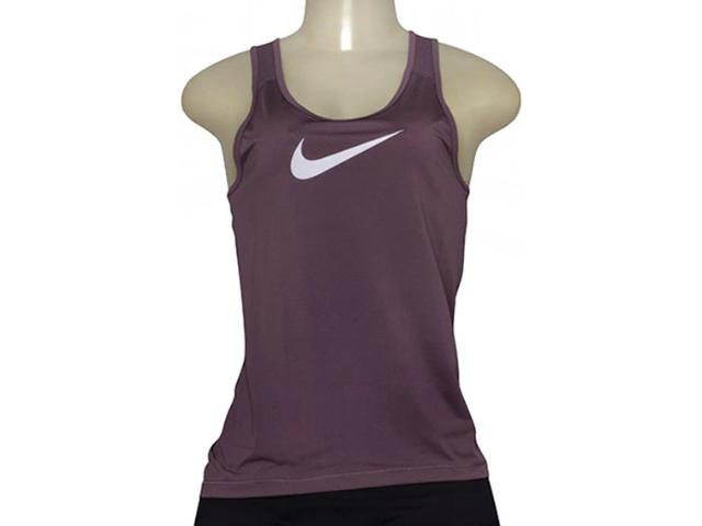 Regata Feminina Nike 725489-533 Pro Cool Roxo