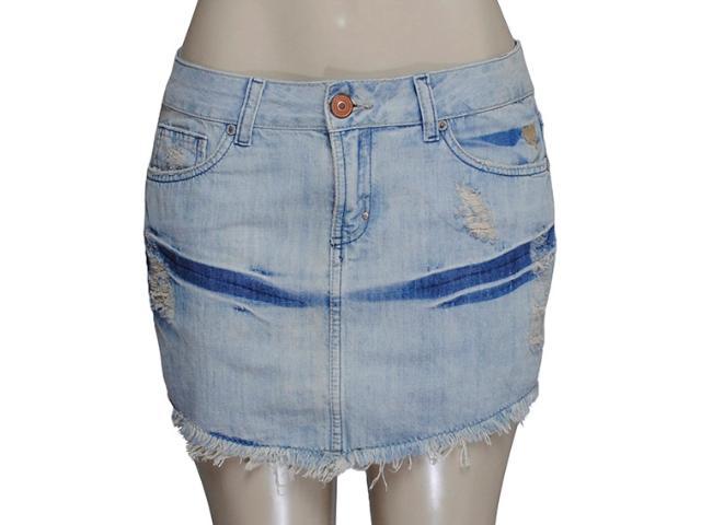 Saia Feminina Cavalera Clothing 10.02.0412 Cor Jeans