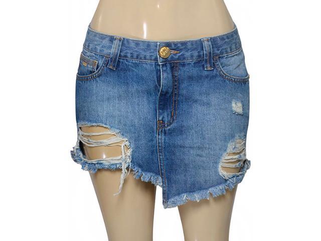 Saia Feminina Coca-cola Clothing 85200012 Jeans