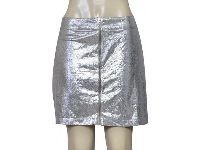 Saia Feminina Coca-cola Clothing 83200792 Var1 Cinza/prata