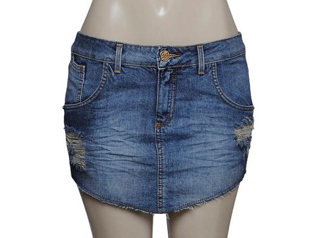 Saia Feminina Index 04.01.000080 Cor Jeans