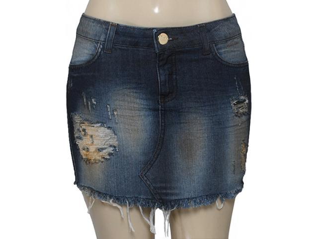 Saia Feminina Index 04.01.000098 Cor Jeans