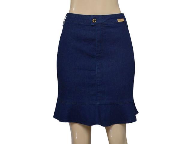 Saia Feminina Index 04.01.000151 Jeans Escuro