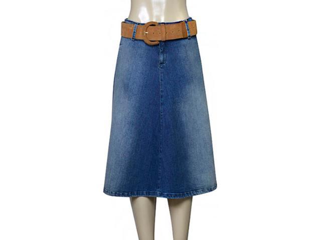 Saia Feminina Index 04.01.000162 Jeans