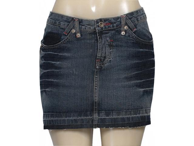Saia Feminina Latreille 03681 Jeans