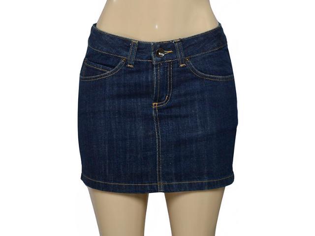 Saia Feminina Lei Básica Sa2454 Jeans