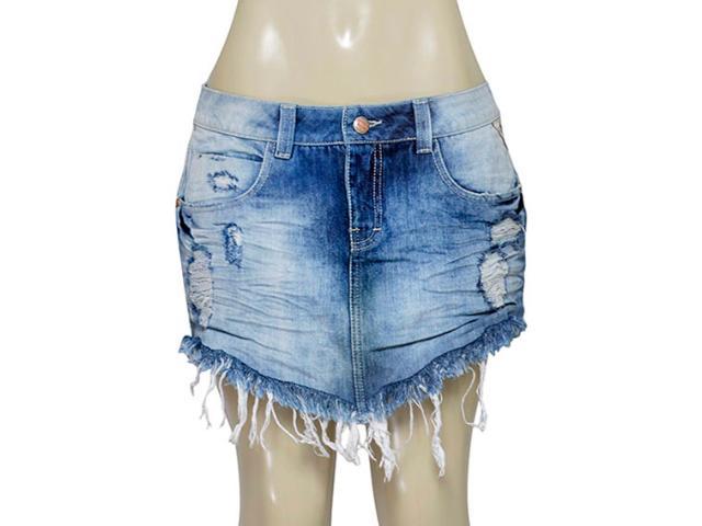 Saia Feminina Moikana 16850 Jeans
