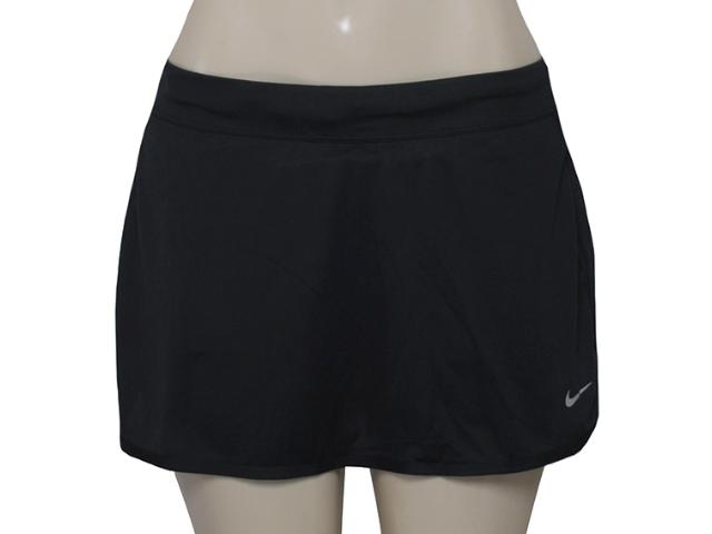 Saia/short Feminino Nike 645586-012 Rice Knit Skirt  Preto/pink