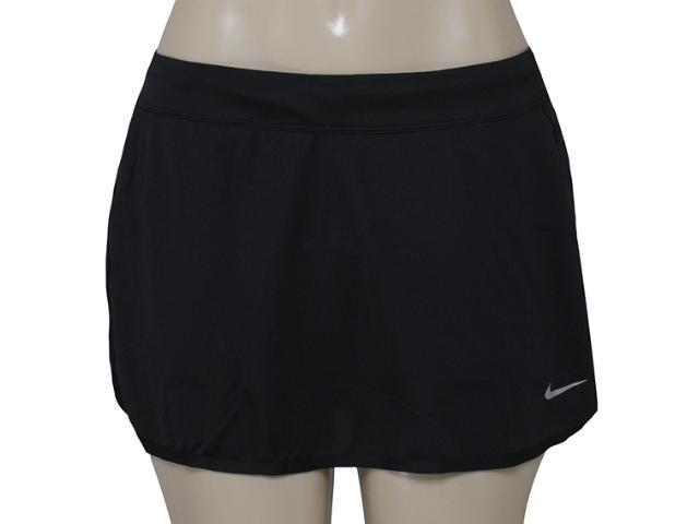 Saia/short Feminino Nike 645586-013 Kinit Skirt  Preto