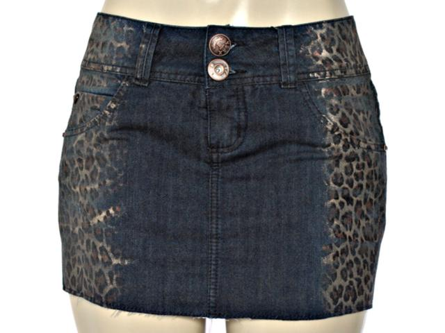 Saia Feminina y Exx 20287 Jeans Onca