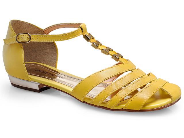 Sandália Feminina Bottero 217402 Amarelo