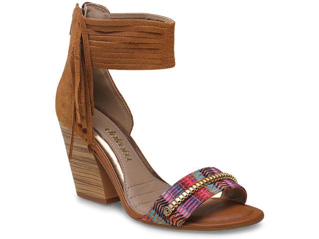 Sandália Feminina Dakota Z0084 Multicolor/mostarda