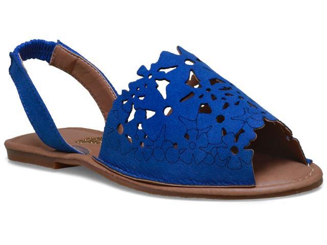 Sandália Feminina Escarlata 3100 Azul