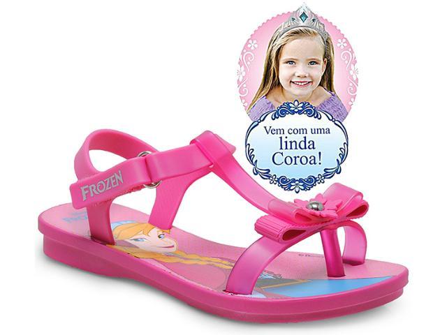 Sandália Fem Infantil Grendene 21251 Disney Frozen Ice Magic  Rosa