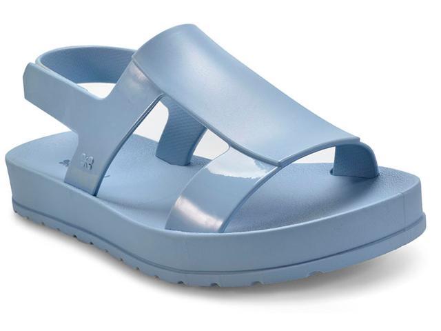 Sandália Feminina Grendene 17368 Zaxy Ever Sand Azul