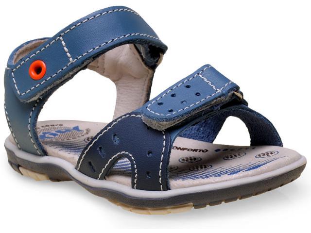 Sandália Masc Infantil Kidy 06902170745 Azul Jeans/marinho