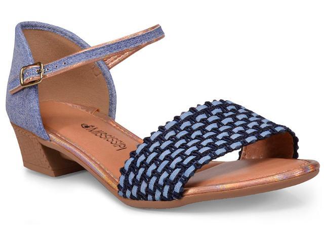 Sandália Feminina Mississipi X6954 Jeans