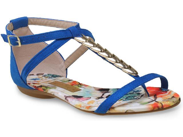 Sandália Feminina Moleca 5210224 Azul