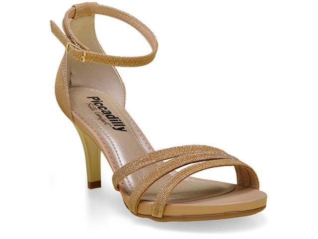 Sandália Feminina Piccadilly 362063 Dourado