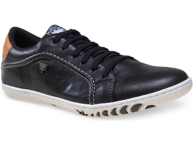 Sapatênis Masculino Cavalera Shoes 13.01.1366 Preto/ocre