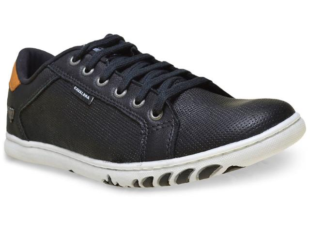Sapatênis Masculino Cavalera Shoes 13.01.1537 Aldo Preto