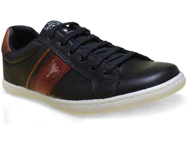 Sapatênis Masculino Cavalera Shoes 13.01.1535 Edgar Preto