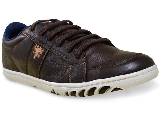 Sapatênis Masculino Cavalera Shoes 13.01.1668 Café