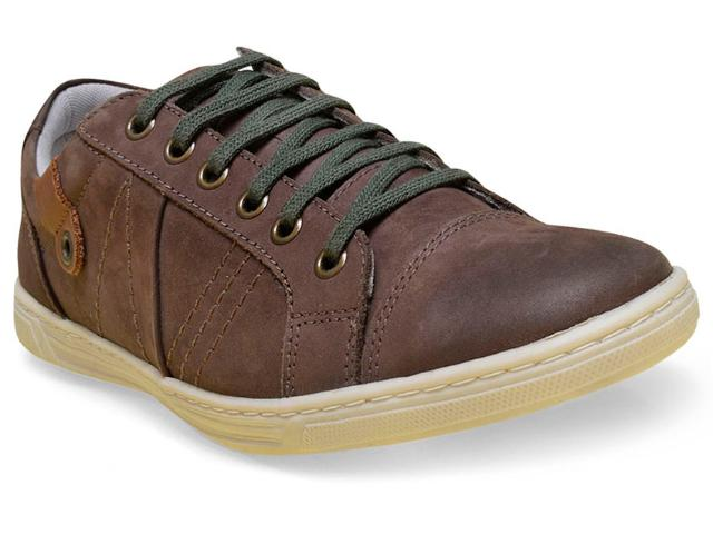 Sapatênis Masculino New Confort 16037 Brown