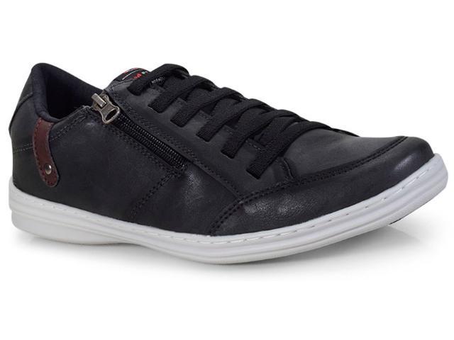 Sapatênis Masculino Ped Shoes 14001-a Preto