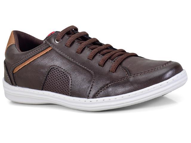 Sapatênis Masculino Ped Shoes 14002-b Café/castanho