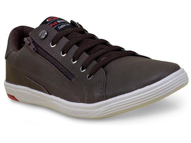 Sapatênis Masculino Ped Shoes 11008-b Rato/chocolate