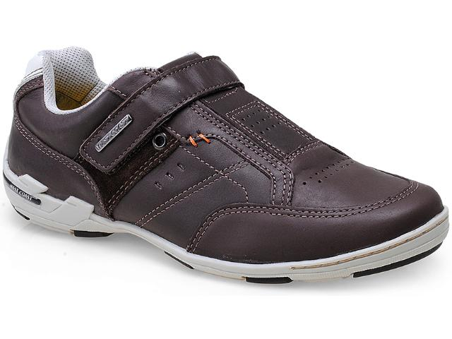 Sapatênis Masculino West Coast 79912/2 Brown