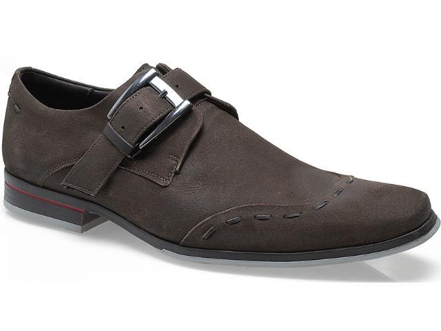 Sapato Masculino Ferracini 3103 Jet Chocolate/café