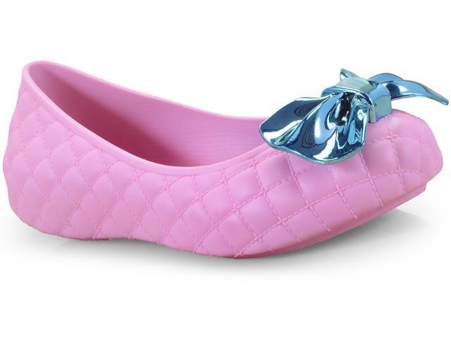 Sapatilha Fem Infantil Grendene 21956 51452 Lol Joy Sap Rosa/azul